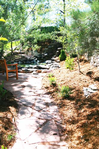 Complete landscape design and construction in Colorado Springs