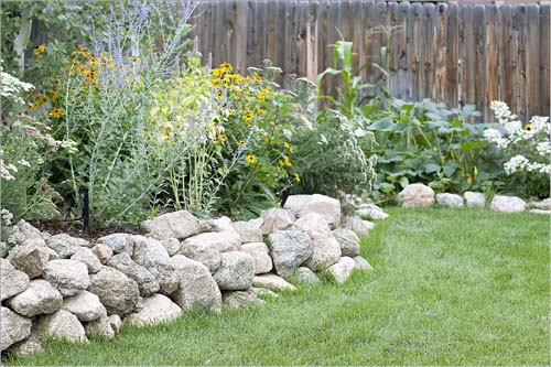 Flower beds, irrigation design and maintenance in Colorado Springs