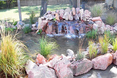 Beautiful water feature design, building and maintenance in Colorado Springs area